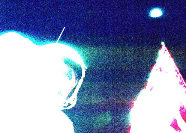 Высветленная версия опубликованного снимка. NASA