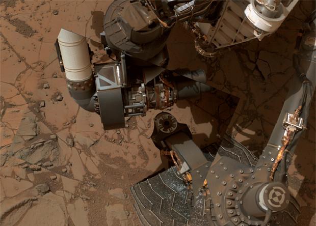 Снимок Curiosity от 14 января 2015, сол 868